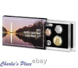 2021-S 7-Coin Silver Proof Set (21RH)