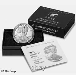 2021 W American 1 oz Silver Eagle Type 2 Proof OGB T2 LANDING EAGLE PRESALE