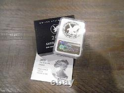 2021-W One Ounce Silver Eagle Proof Type 2 NGC PF70 First Day of Issue In Stock