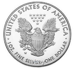 2021 W PROOF SILVER EAGLE, HERALDIC TYPE 1, NGC PF70UC 1st RELEASE, LIMITED