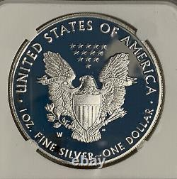 2021 W PROOF SILVER EAGLE HERALDIC T-1 NGC PF70UC Early Releases LIMITED MINTAGE