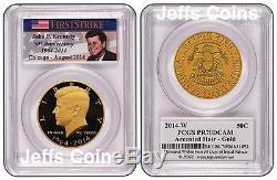 50th Anniversary Kennedy 2014 P D S W Half Dollar 90% Silver 4 Coin Set K13