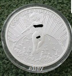 5 Oz. 999 Pure Silver Proof Gwen The Fairy Round Coin Bullion