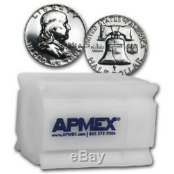 90% Silver Franklin Halves $10 20-Coin Roll Proof SKU #23692