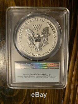 American Eagle 2019 One Ounce Silver Enhanced Reverse Proof Coin 19XE
