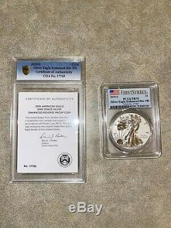 American Eagle 2019 One Ounce Silver Enhanced Reverse Proof Coin (PCGS FS PR70)