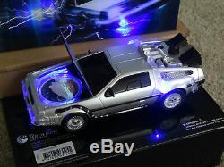 Back to the Future DeLorean car 2015 1oz Silver Proof Coin # 3285 / 7500 MINT