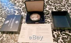 Complete Set 1986 Through 2017 Proof Silver Eagles with Boxes & COA's 31 Coins