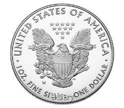 Confirmed Order 2021 W American Eagle One Ounce Silver Proof Coin 21EA
