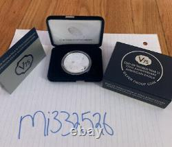 End of WW2 75th Anniversary American Eagle Silver Proof Coin IN HAND