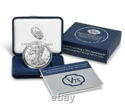 End of WWII 75th Anniversary American Eagle Silver Proof Coin Confirmed