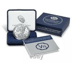 End of World War 2 75th Anniversary American Eagle Silver Coin US Mint UNOPENED
