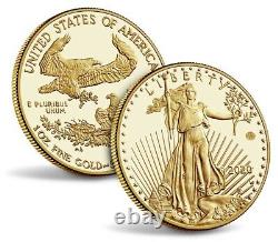 End of World War II 75th Anniversary American Eagle Gold & Silver Proof Coins