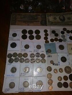 Huge US Coin Collection LotSeated Liberty, mercs, flying/large cent, +100wheaties+