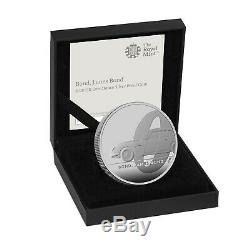 James Bond Coin £2 Royal Mint New 2020 Limited Edition One Ounce Silver Proof