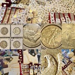 Massive 230LB+ COIN COLLECTION HOARD