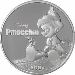 Niue 2018 1 oz Silver Proof Coin- Disney Pinocchio