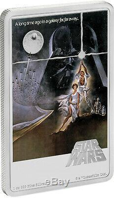 Niue 2020 1 oz Silver Proof Coin- Star Wars A New Hope