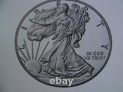 PRE-SALE 2021 W American Eagle One Ounce Silver Proof Coin (21EA)