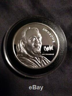 Pawn Stars Chumlee Awesome 1 Troy Oz Fine Silver Coin. 999 Proof Round Chum