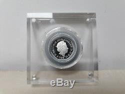 Peter Rabbit 2016 Silver Proof 50p Fifty Pence Beatrix Potter Coin COA No 01738