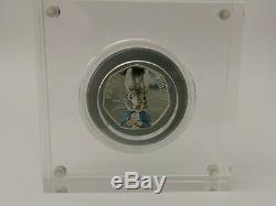 Peter Rabbit 2016 Silver Proof 50p Fifty Pence Beatrix Potter-Rare Coin COA 8273