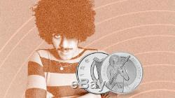Phil Lynott Silver Proof 15 Euro Coin 2019 Commemorative Thin Lizzy Sold out