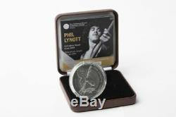 Commemorative Phil Lynott Central Bank of Ireland Collector Coin Thin Lizzy