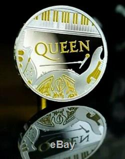 Queen 2020 UK One Ounce Silver Proof Coin LE 7500. SOLD OUT AT THE MINT
