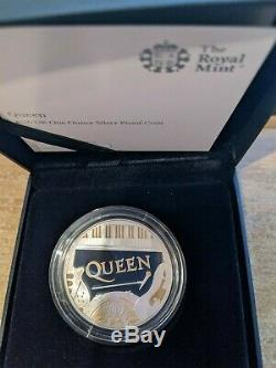 Queen Music 2020 Royal Mint Silver Proof £2 Coin Freddie Mercury- Box 7500 only