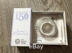 Royal Mint 2016 Peter Rabbit Beatrix Potter 50p Silver Proof Coins set of 4 COA