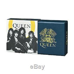 Royal Mint Queen £1 Coin 2020 Limited Edition Half Ounce Silver Proof One Pound