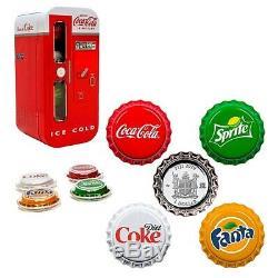 Sale Price 2020 24 gram Fiji Coca-Cola Vending Machine Proof Silver 4-Coin Set