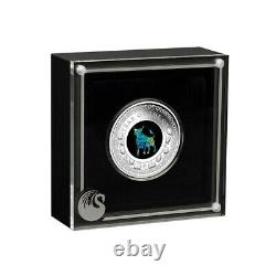 Sale Price 2021 1 oz Proof Silver Lunar Year of the Ox Opal Coin Australian