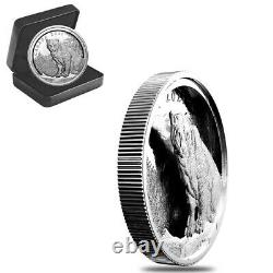 Sale Price 2021 Canada 3.4 oz Multilayered Cougar Proof Silver Coin. 9999 Fine
