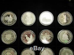 Silver Proof Coin Collection for HRH Queen Elizabeth the Queen Mother 24 coins