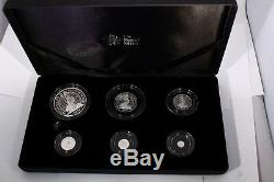 The Britannia 2014 Uk 6 Coin Silver Proof Set Boxed With Certificates