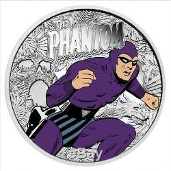 WHOLESALE 6 x 2016 $100 Bengalla Phantom 1 oz Coloured Silver Proof Coin
